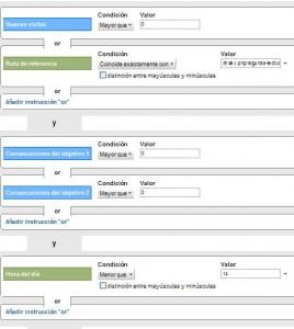 Google Analytics: Segmentos Avanzados (II) 5