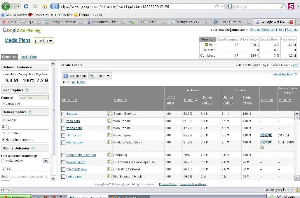 Preparando un entorno de analítica web con Google