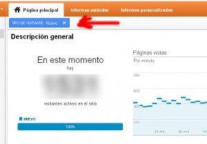Analytics en tiempo real: SEGMENTAR INFORMACION 2