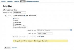 Como Filtrar tu tráfico en Google Analytics. ConsultorioAW 2