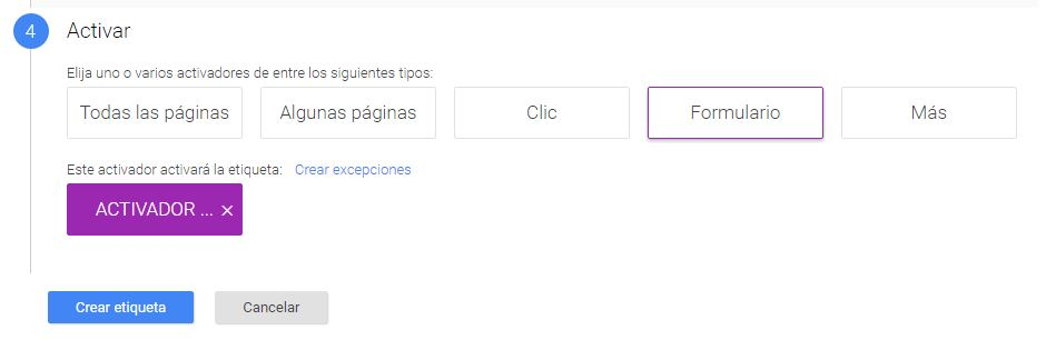Como medir formularios con Google Tag Manager sin código
