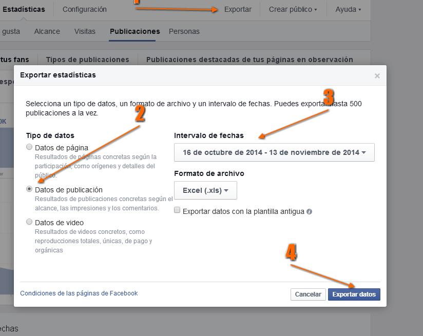 Estadisticas de Facebook en excel (analisisfacebook) 5
