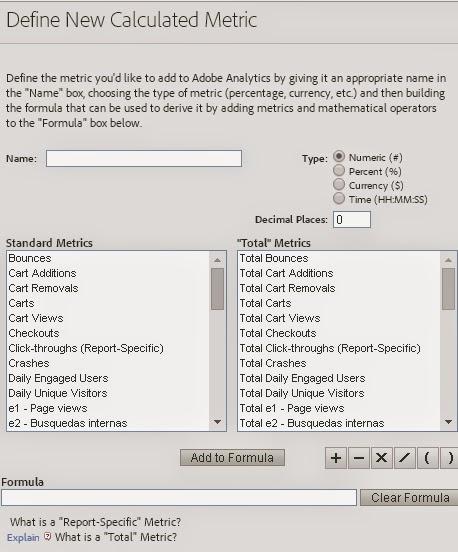 Preparando el examen de Adobe sitecatalyst: métricas calculadas 3