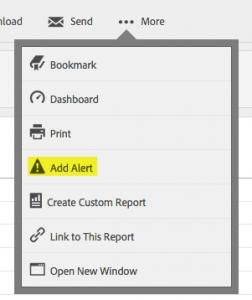 Adobe Site Catalyst: objetivos, eventos y alertas 5