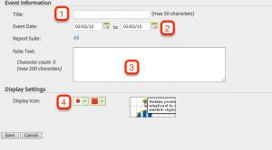 Adobe Site Catalyst: objetivos, eventos y alertas 4