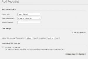 Preparando el exámen de Adobe Site Catalyst: Dashboards 1