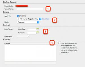 Adobe Site Catalyst: objetivos, eventos y alertas 2