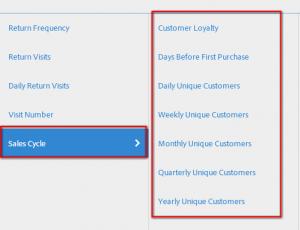 Retención de visitantes y crecimiento - los informes de Adobe SiteCatalyst (Omniture) 3