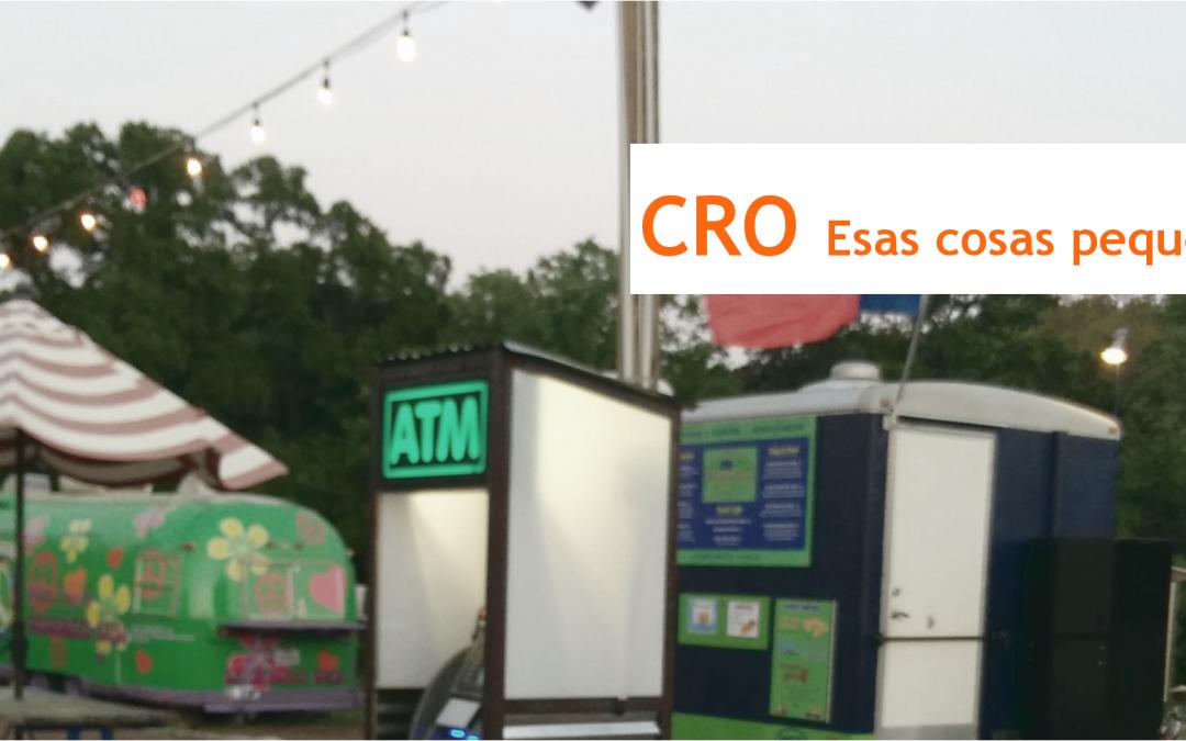 CRO, pequeños arreglos grandes soluciones