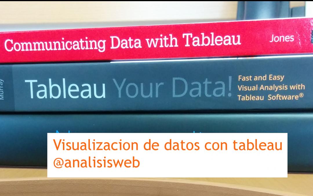 Visualización de datos con tableau