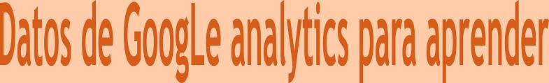 Cuenta gratis de google analytics para aprender