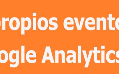 Custom events: eventos personalizados en Google Analytics 4