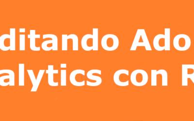 Usa R para auditar tu instalación de Adobe Analytics